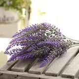 Artificial Romantic Provence Lavender-home accent-wanahavit-Blue-wanahavit