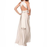 Elegant Multiway Convertible Wrap Maxi Dress-women-wanahavit-White-L-wanahavit