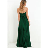 Elegant Multiway Convertible Wrap Maxi Dress-women-wanahavit-Green-L-wanahavit