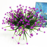 Artificial Flower Shoots Bouquet-home accent-wanahavit-Purple-wanahavit