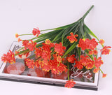 Artificial Flower Shoots Bouquet-home accent-wanahavit-Orange-wanahavit