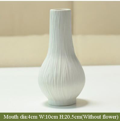 Modern European Ceramic Flower Vase-home accent-wanahavit-1-wanahavit