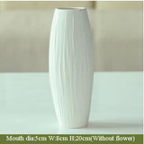 Modern European Ceramic Flower Vase-home accent-wanahavit-5-wanahavit
