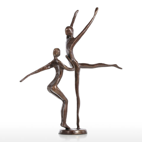 Dancing Couple Statue Bronze Sculpture