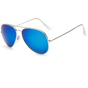 Retro Aviator Designer Sunglasses-unisex-wanahavit-no Polarized light-wanahavit