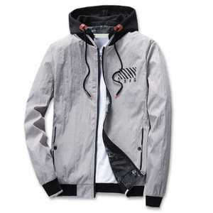 Army Printed Cool Bomber Pilot Hooded Jacket-unisex-wanahavit-Grey-XXL-wanahavit