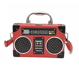 Summer Radio Tape Printed Mini Shoulder Bag-women-wanahavit-red-Mini(Max Length<20cm)-wanahavit