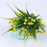 Artificial Baby's Breath Plant-home accent-wanahavit-Yellow-wanahavit