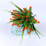 Artificial Baby's Breath Plant-home accent-wanahavit-Orange-wanahavit