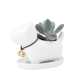 Cute Novel Animal Flower Pot-home accent-wanahavit-Dog-wanahavit