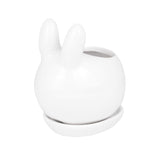 Cute Novel Animal Flower Pot-home accent-wanahavit-Rabbit-wanahavit