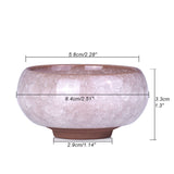 Ice Crack Glazed Ceramic Flower Pot