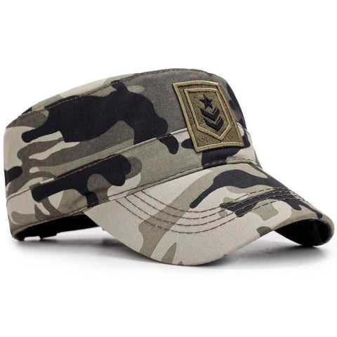 Corporal Rank Embroided Military Cap-unisex-wanahavit-CAMOUFLAGE-wanahavit