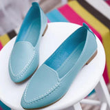 Summer Style Slip On Pointed Shoes-women-wanahavit-Sky Blue-4-wanahavit