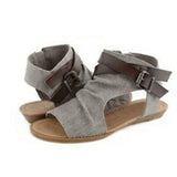 Plus Size Belted Gladiator Wedge Shoes-women-wanahavit-gray-6-wanahavit