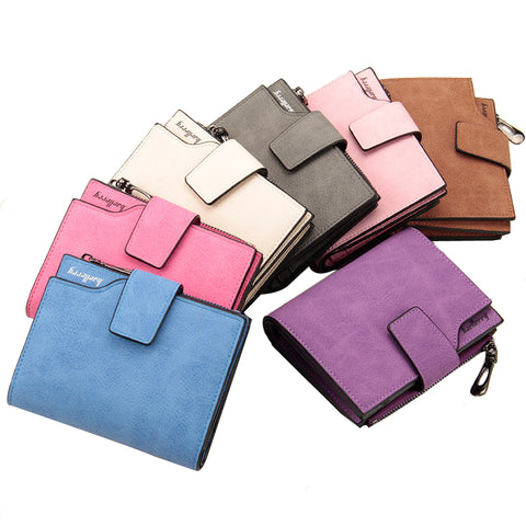 High Quality Vintage Small Leather Wallet