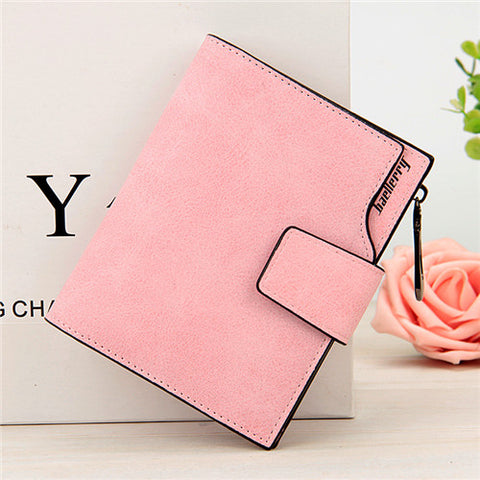 High Quality Vintage Small Leather Wallet-women-wanahavit-Pink-wanahavit