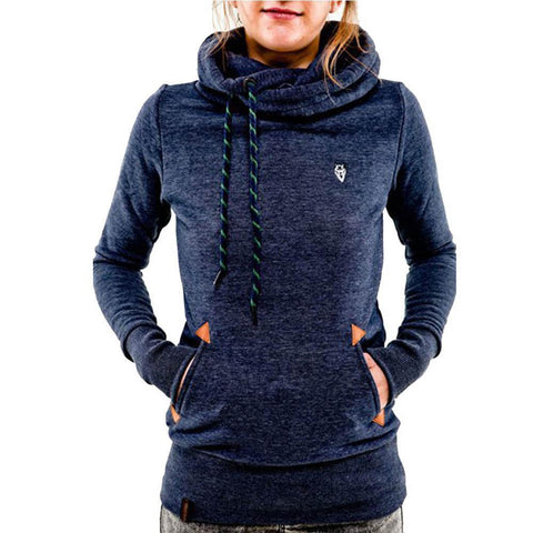 Fashion Fleeces Embroidery Pocket Hoodies