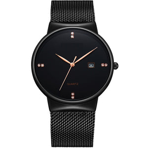 Elegant Minimalist Ladies Watch-women-wanahavit-black black-wanahavit