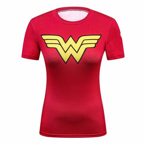Wonder Women 3D Printed T Shirt-women-wanahavit-L-wanahavit