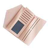 Geometric Envelope PU Leather Clutch Wallet