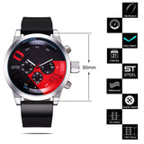 Racing Car Inspired Waterproof Wristwatch v1