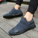 Breathable Walking Slip On Casual Shoes-unisex-wanahavit-Navy Blue-7-wanahavit