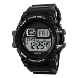 Shock Resistant LED Waterproof Wristwatch-men-wanahavit-Black-wanahavit