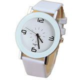 Elegant and Minimalistic Quartz Watch-unisex-wanahavit-white-wanahavit
