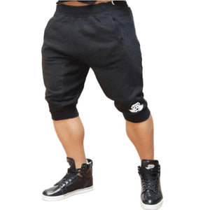 Breathable Fitness Slim Fit Shorts-men fitness-wanahavit-Black-M-wanahavit