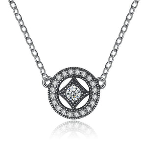 925 Sterling Silver Classic Vintage Allure Necklace-women-wanahavit-wanahavit