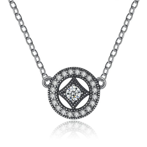 925 Sterling Silver Classic Vintage Allure Necklace