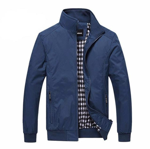 Casual Loose Bomber Jacket-men-wanahavit-blue-L-wanahavit