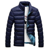 Thick Winter Zip Up Jacket-men-wanahavit-Dark Blue-M-wanahavit