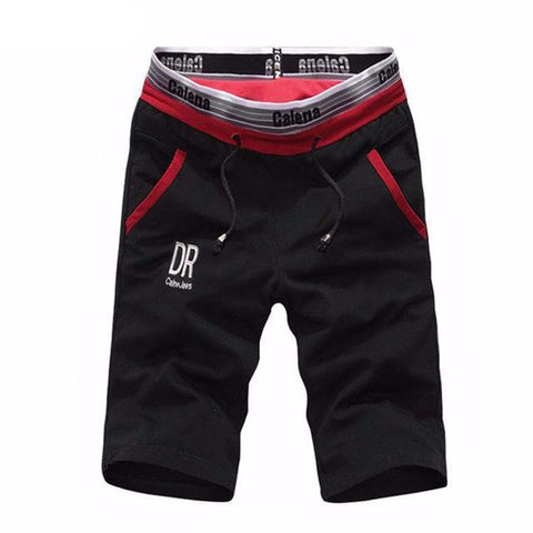 Masculine Cotton Gym Shorts