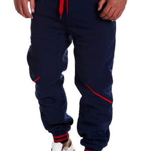Solid Hip Hop Harem Jogger Pants-men-wanahavit-Navy-M-wanahavit