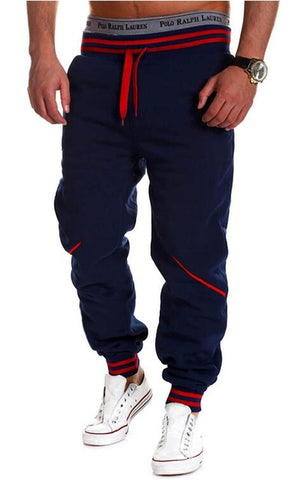 Solid Hip Hop Harem Jogger Pants