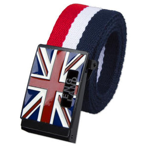 Great Britain Flag Luxury England Canvas Belt-men-wanahavit-MZ-110CM-wanahavit