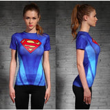 DC Superheroes Compression Shirt-women fitness-wanahavit-Superwoman 7-XXL-wanahavit