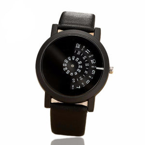 Create Digital Disc Handed Watch-unisex-wanahavit-All black-wanahavit