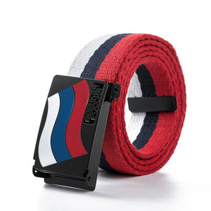 Great Russian Flag Canvas Belt-men-wanahavit-RU-110CM-wanahavit