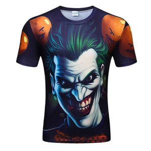 Colorful 3D Printed High Quality Tees #joker4-men-wanahavit-XXL-wanahavit