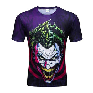 Colorful 3D Printed High Quality Tees #joker3-men-wanahavit-XXL-wanahavit