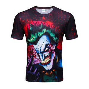 Colorful 3D Printed High Quality Tees #joker2-men-wanahavit-D44-XXL-wanahavit