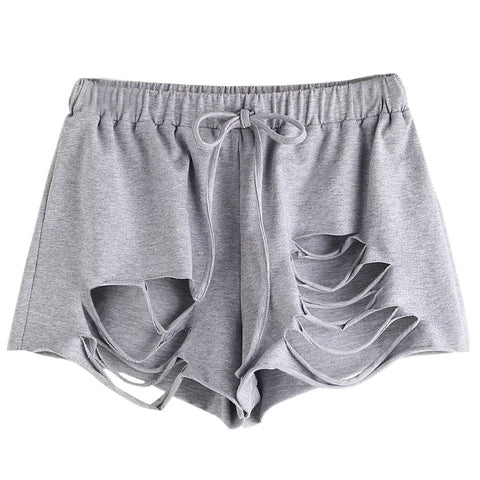 Sexy Ripped Summer Shorts-women-wanahavit-L-wanahavit