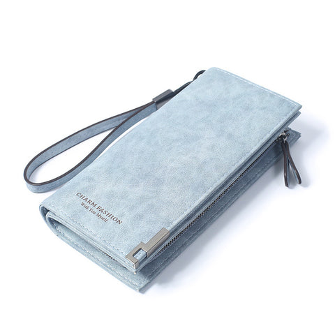 High Capacity Retro Fashion Long Purse
