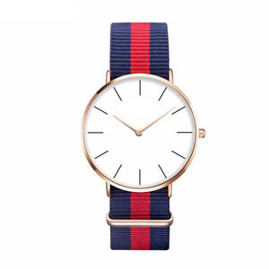 Casual Sport Clock Classical Nylon Wristwatch-unisex-wanahavit-CH 0212-wanahavit