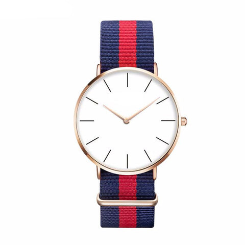 Casual Sport Clock Classical Nylon Wristwatch
