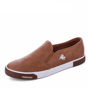 Breathable High Quality Casual PU Leather Shoes-unisex-wanahavit-Khaki-6.5-wanahavit