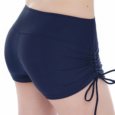 Quick Dry Drawstring Yoga Shorts
